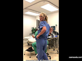 Sexy Nurse's Hospital Room Solo