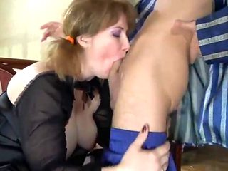 junior boy fucked mature chubby in the ass