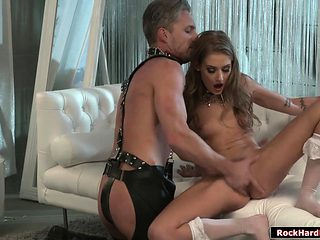 Bride witch toyed and fucked by big cock