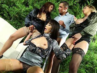 Hottest pornstars Marica Hase and Bibi Noel in horny brazilian, fisting porn movie