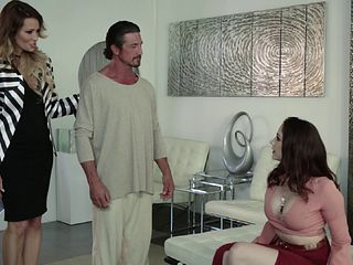 Exotic guy gladly gives Chanel Preston a doggy style obliteration