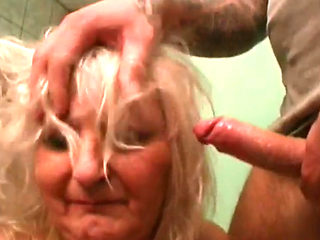 Granny Marianne Fucked And Facialized