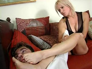 hot milf foot humiliation