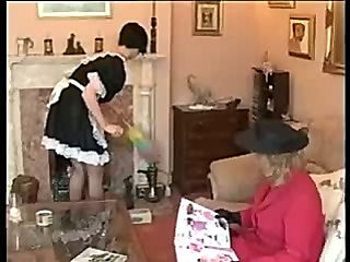 Mature Spanks Maid