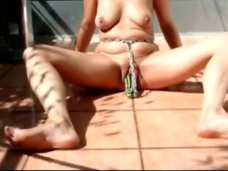 Amazing homemade BDSM, Outdoor xxx video