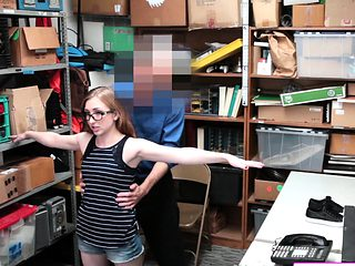 Sexy Gal Gets Wiener Punishment For Theft