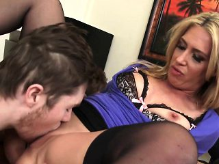 Horny boss craves for a cock