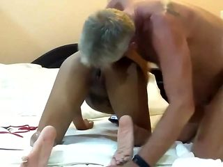 Mature Thai With White Man