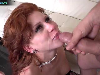 Brooklyn Lee shaking in orgasms