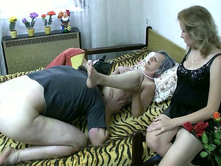 Old Granny Sex With A Dude