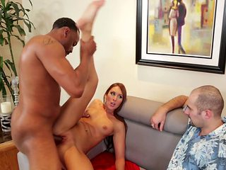 Redhead doll gets pounded in her love tunnel