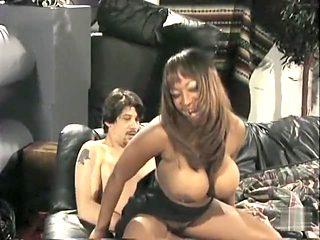 Best pornstar Dominique Simone in crazy interracial, big tits porn scene