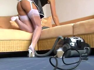 Amazing amateur Maid, Fetish xxx clip