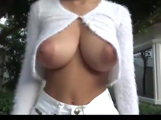 Asian beautiful breast