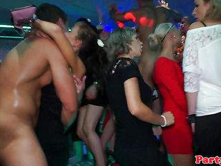 Real party euro amateur gets fucked