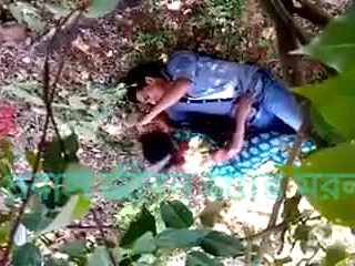 sexty romance in a forest