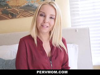 Pervmom - Stepmom Seduces Horny Son