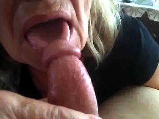 Old ugly granny gives head 2