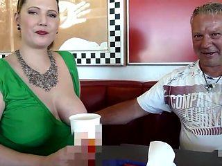 Pisse-Drink und Pommes mit Sacksosse bei Burger King!