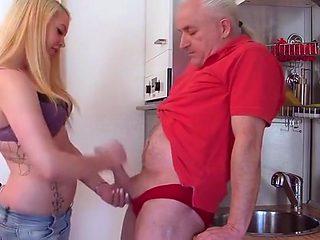 Admirable girl having a hot fetish fun