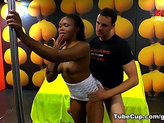Exotic pornstar in Amazing Bukkake, Black and Ebony xxx video