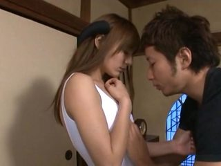 Rio Pretty Asian maiden gets wet pussy