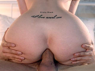 Kristy Black in I Love Anal Sex - ElegantAnal