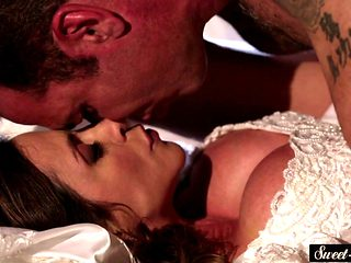 MILF Bride Pounded And Sprayed With Cum