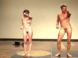 Naked on Stage 149 Magdalena Leite Festival Un Desierto