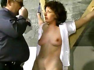 Hottest amateur Fishnet, Brunette sex video