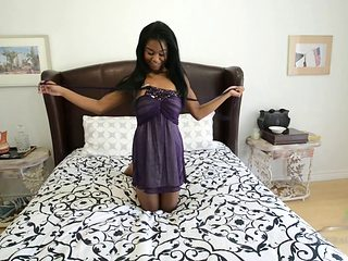 18 Y/o Ebony Big Tit Teen Kahlista Stonem Orgasms