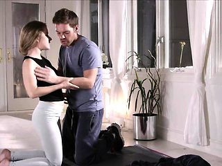 Petite hot babe Lilly Ford in a heated erotic fuck