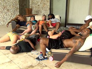 Interracial Blow Jobs Orgy