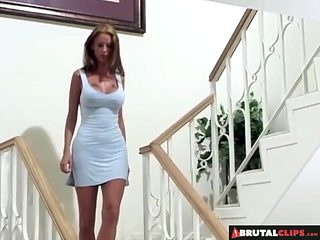 ###Clips  Stretching her pussy to its absolute limit