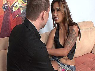 Latina Step Sister Swallows Her Step Bros Hot Cum After Fucking