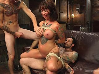 slutty dollie gets bonded and fucked