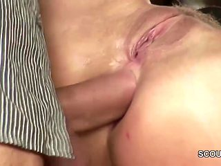 Extrem Hot Office Teen Get Anal Fucked by Monster Cock Boss