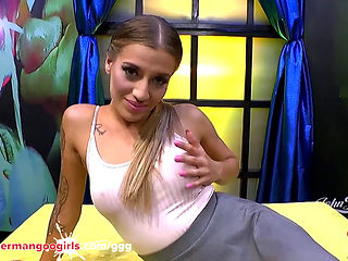 Anal Cum And Monster Cock For Sexy Silvia Dellai - German Goo Girls