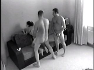 Voyeur Threesome Caught - Watch Part 2 At SluttyTeenCam. com