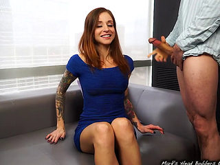 Hot Blowjob With Paris Kennedy