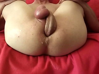 My cock in my ass