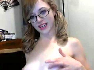 Hot couple's cum show