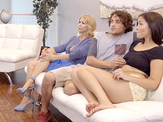 Alexis Fawx & Karter Foxx in What Were You Doing - MomsTeachSex