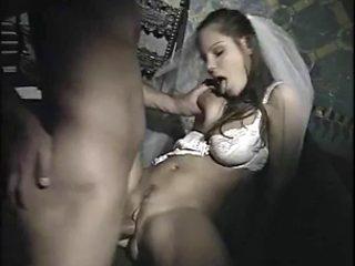 Italian bride and priest