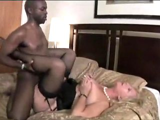 Hottest homemade Blonde, Interracial adult video