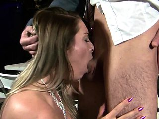 Victoria Summers is a blonde bride with big tits and a...