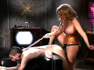 Busty Slut Fucks Her Bf in the Ass