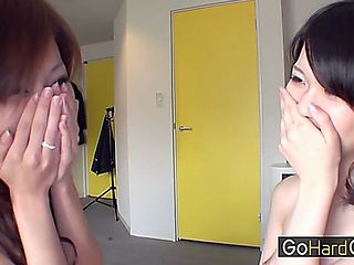 Shy Asians In Fake Casting Agent Moe Tanimura Shizuru Motomiya