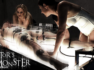 Katharine Cane & Sovereign Syre & Aiden Starr in Electrosluts Presents: The Doctor's Monster - El...