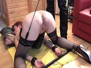 LittleKissMuffin: Sub Slut Fisted and Punch Orgasm
